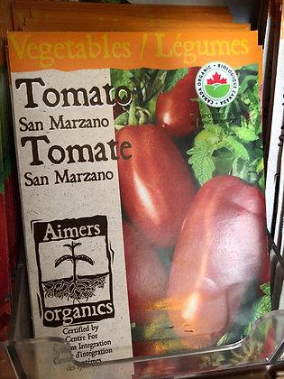 Seed - Aimers Organic - Tomato San Marzano