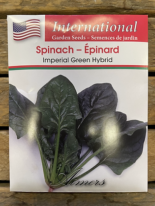 Spinach Imperial Green Hybrid  -  Aimers International