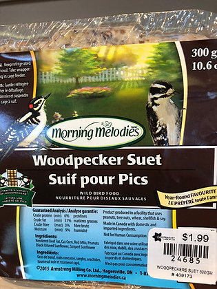 Woodpecker Suet 300g