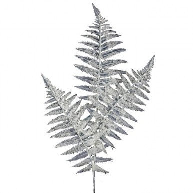 Ice Glitter Fern Spray