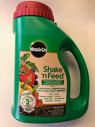 Miracle Gro Shake N Feed Shake N Feed Tomato, Fruit and Vegetable 2.04 Kg