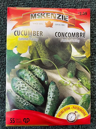 Cucumber -  National Pickling - McKenzie