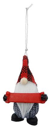 Mini Gnome Customizable Ornament B