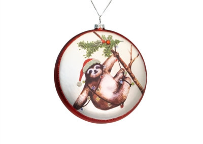 Ornament with Sloth