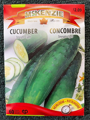 Cucumber  Straight Eight - McKenzie Seed