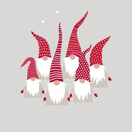 Napkin Luncheon - Scandic Santas