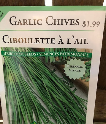 Seed - OSC - Garlic Chives