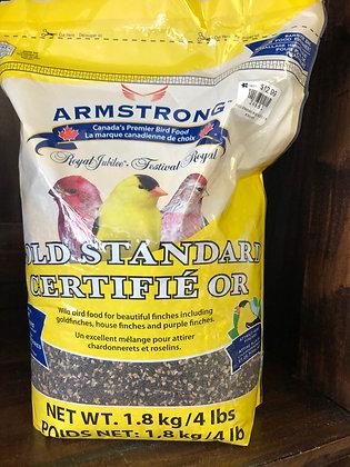 Birdseed Gold Standard Finch Food 1.8kg
