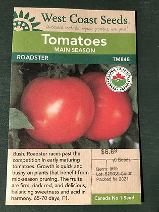 Tomato Roadster  -  West Coast Seed
