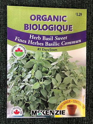 Basil Seed - McKenzie Organic