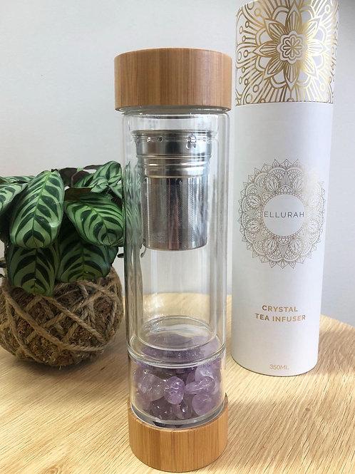Amethyst Crystal Tea Flask