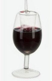 Merry Merlot Wine Ornament