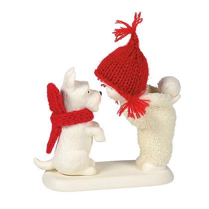 Snowbabies Ornament Show me a Trick
