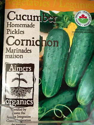 Cucumber Homemade Pickles - Aimers