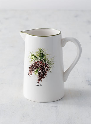 Pinecone Pitcher