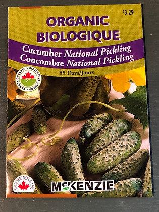 Cucumber -  National Pickling - McKenzie Organic