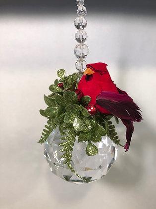 Mistletoe Krystal Cardinal