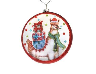 Ornament with Llama