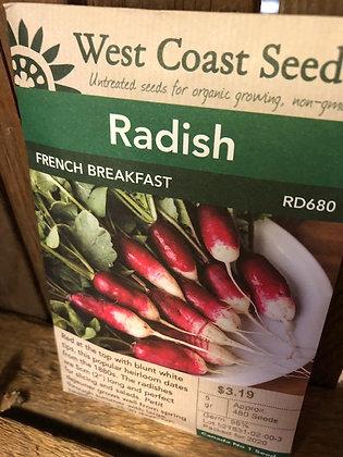 Seed - West Coast -Radish French Breakfast