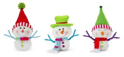 "Snowman 9"" Bright Colours"