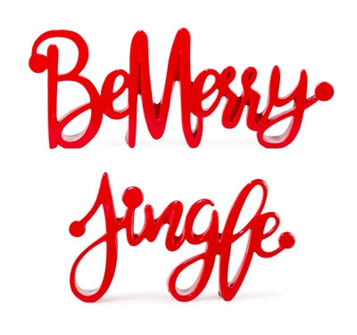 Be Merry/ Jingle Sign 10""