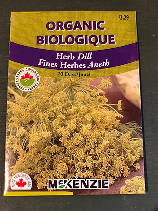 Dill  -  McKenzie  Organic