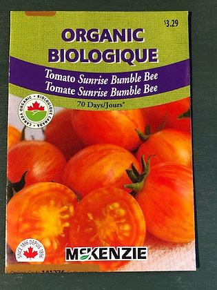 Tomato Sunrise Bumblebee - McKenzie Organic