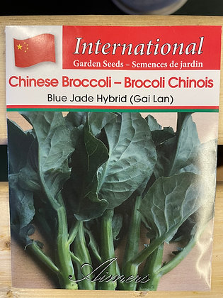 Chinese Broccoli Blue Jade Hybrid  -  Aimers International