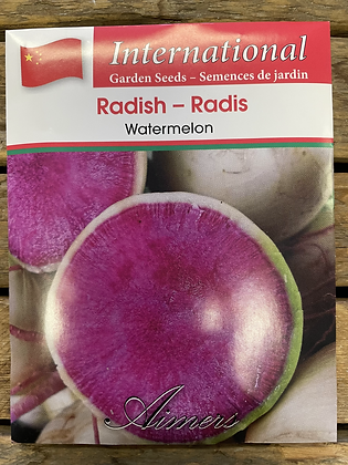 Radish Watermelon  -  Aimers International