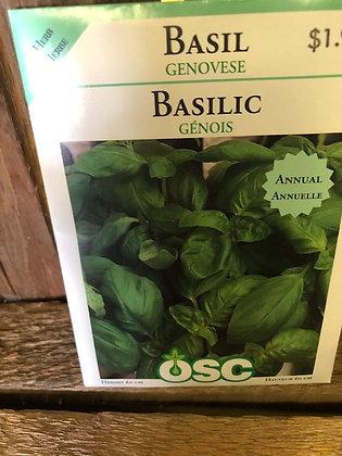 Seed - OSC - Basil - Select Variety
