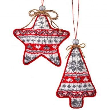Sweater Star/Tree Ornament