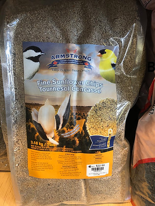 Fine Sunflower Chips 3.18kg