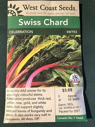Swiss Chard Celebration - West Coast Seed