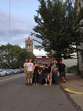Penn Ave Crew after Apteka