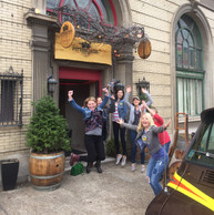PGH Winery organized group jump pic