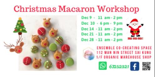 Christmas Macarons Workshop