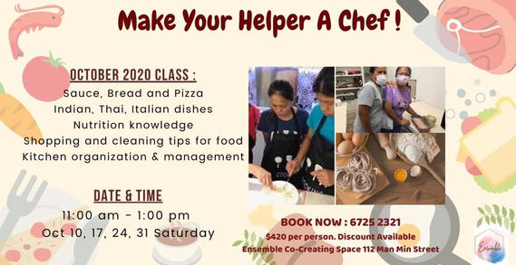 Cooking Class for Helpers