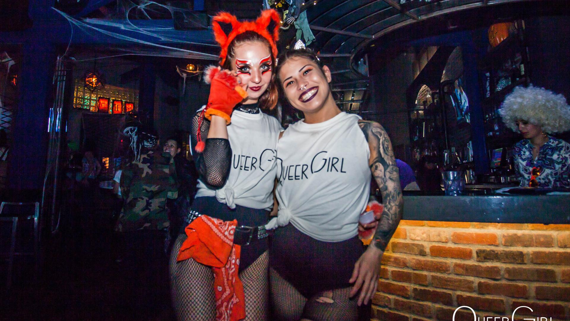 San Diego QueerGirl Halloween 2018