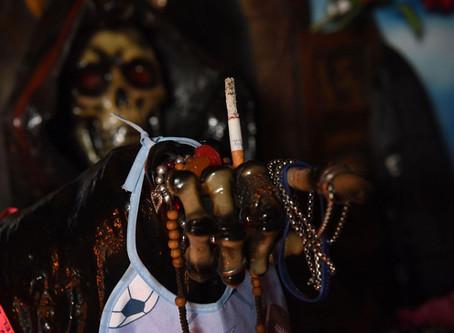 Hechizo para afectar un lugar con San La Muerte