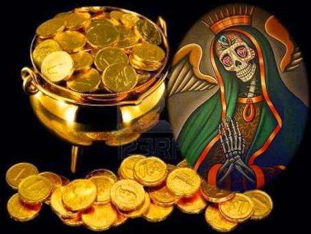 Oración abre caminos Santa Muerte para atraer el dinero y el trabajo