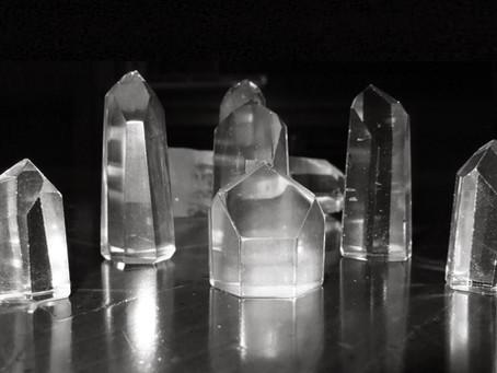 El gran poder del cuarzo hiliano, transparente o cristal de roca
