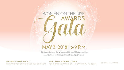 Women on the Rise Awards Gala