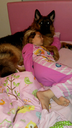 I can sleep all night, im safe and w