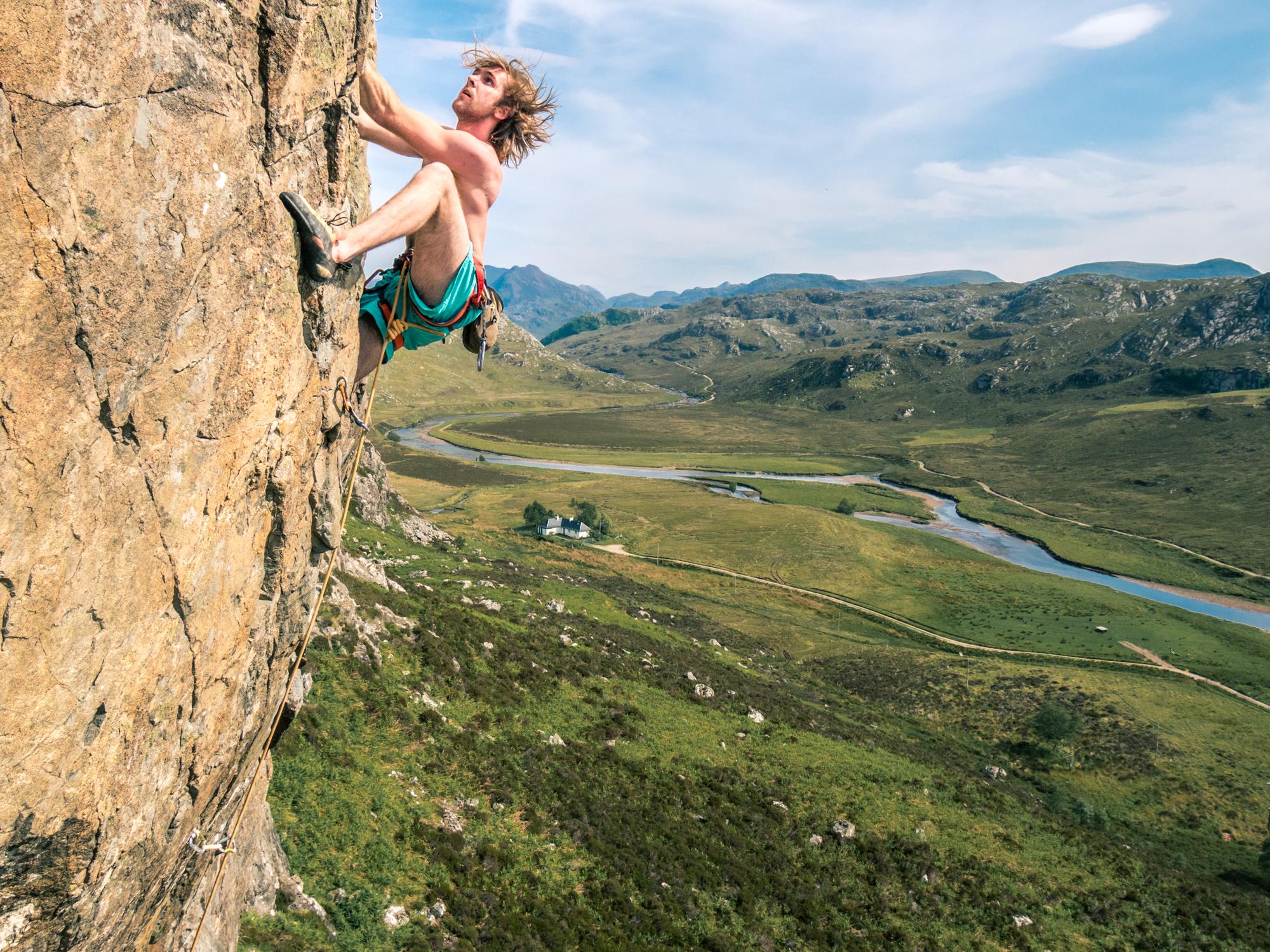 Goat Crag, Scotland