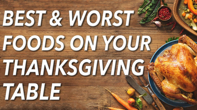 What should or shouldn't eat on Turkey Day?