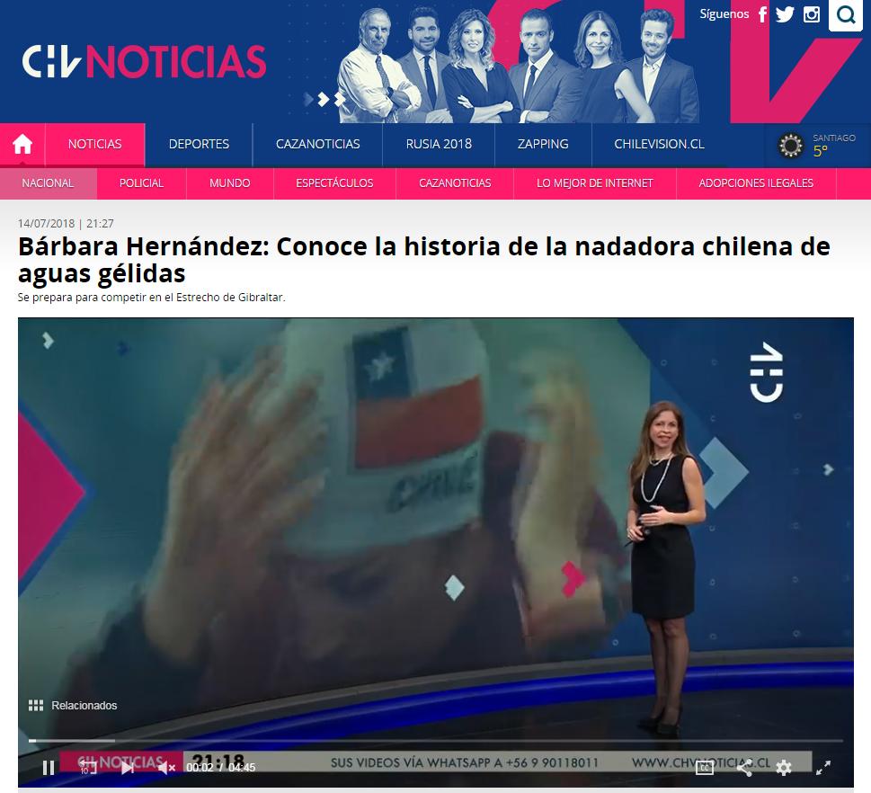 Chilevisión noticias.