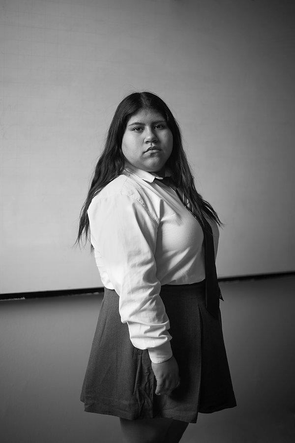 Francisca_Nain,_1er_año_secundaria._Lice
