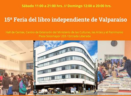15° Feria del libro independiente de Valparaíso