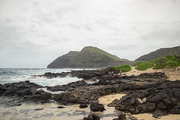 Sandy Beach. Oahu, Hawaii.