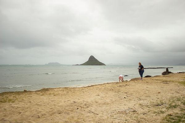 Kualoa Beach Park. Oahu, Hawaii.